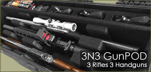 3N3 GunPOD Rifle Cases