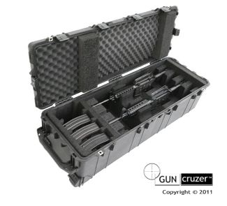 4 pack M4 gun case by GunCruzer