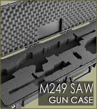 KR Series M249 SAW Gun Case