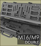 M16 - M9 Double Gun Case