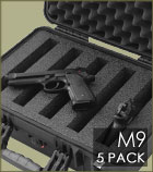 M9 5 Pack Case