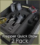 Prepper Quick Draw Handgun Case