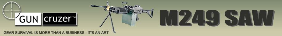 M249 SAW Machine Gun Carrying Case by CASECRUZER™