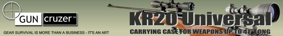 "KR20 Gun Case for rifles up to 41"" long"
