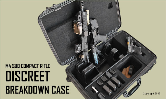 Discreet Breakdown Rifle Case Casecruzer