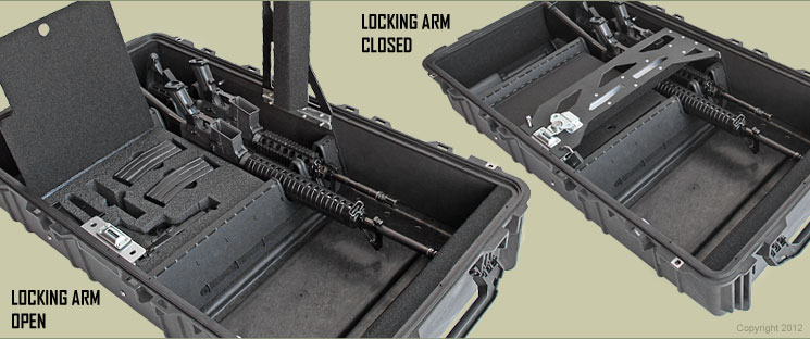 8 Pack Custom Gun Case Solution