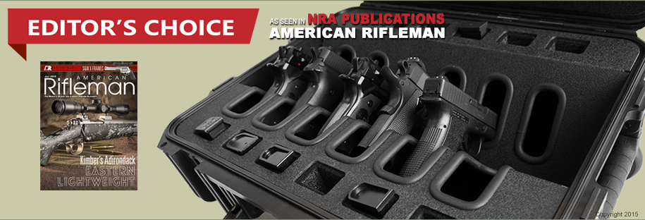 Handgun Case 6 Pack American Rifleman